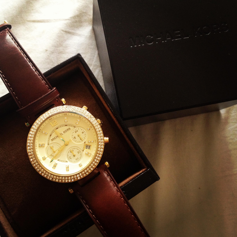 c0a768a99 Ladies Michael Kors Parker Chronograph Watch (MK2249)   WatchShop.com™