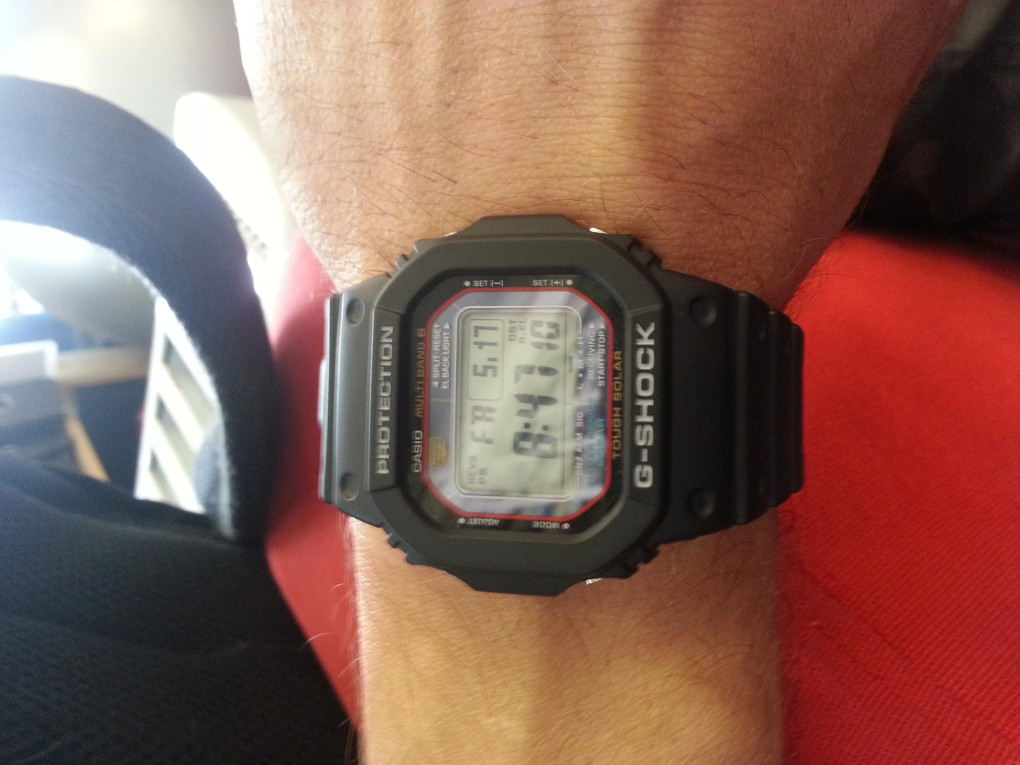 Casio men's gwm5610-1 g-shock solar watch review.