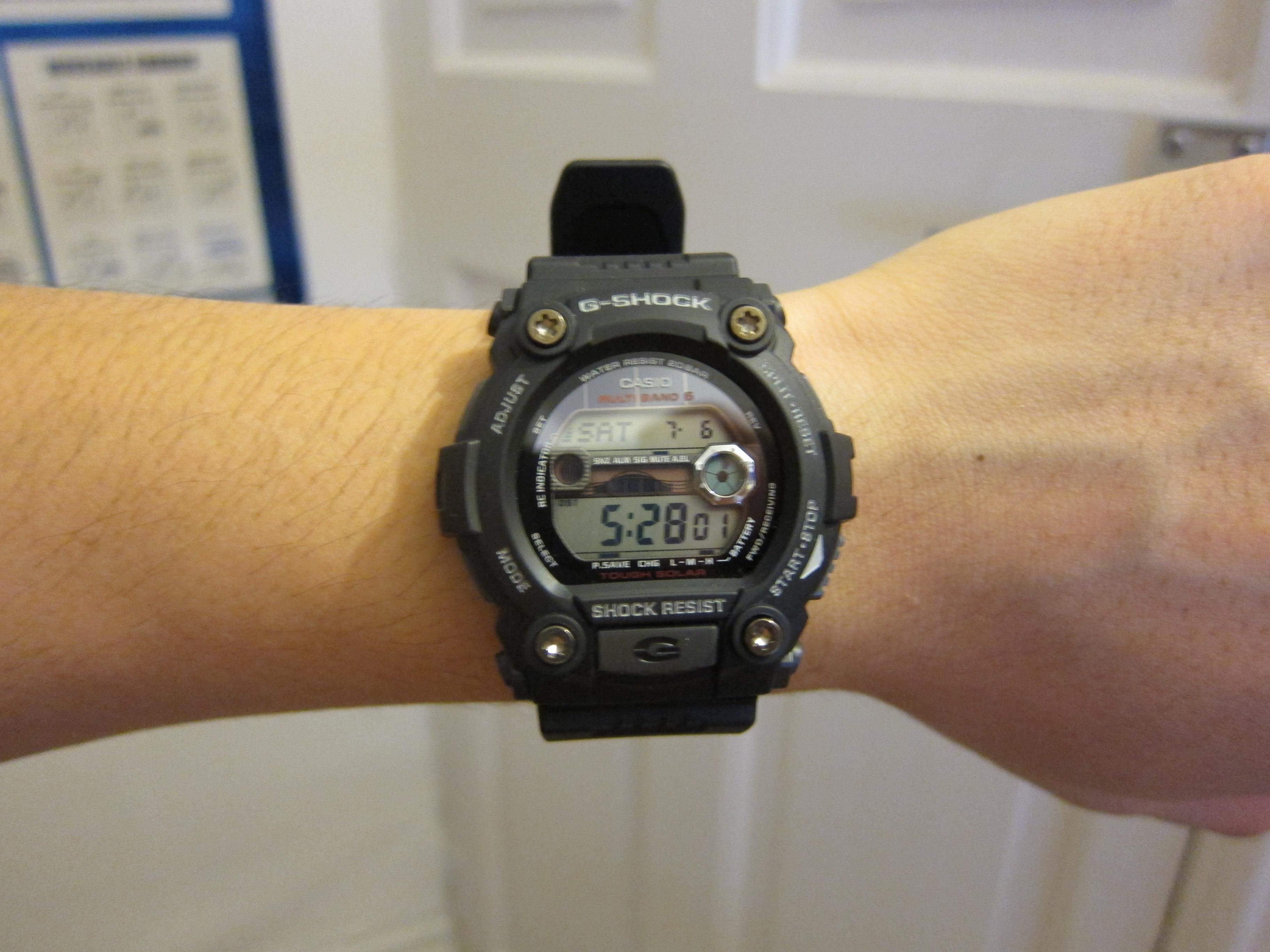 Montre Chronographe Homme Casio G Shock G Rescue GW 7900 1ER  qouQC