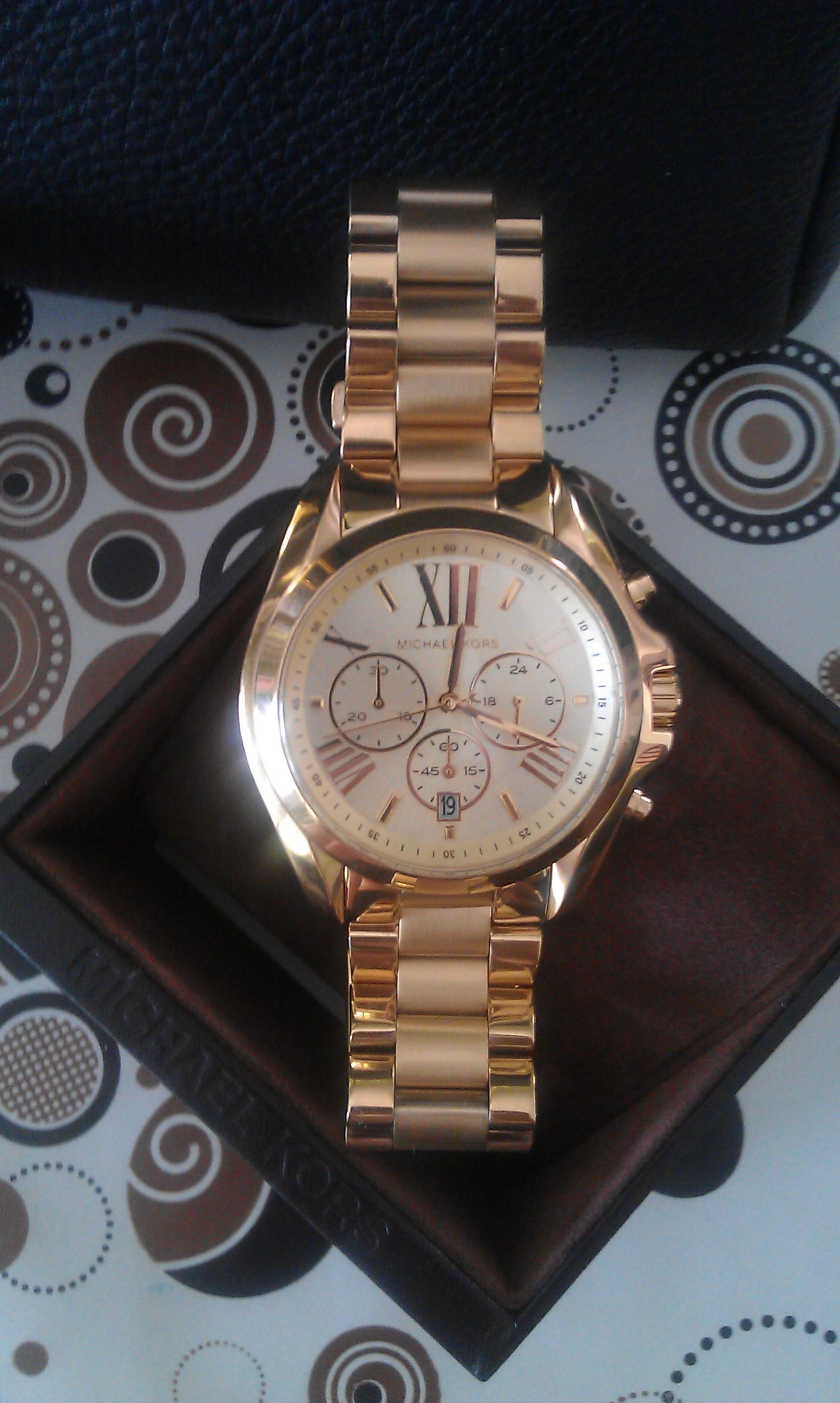 2fadf34255994 Ladies Michael Kors Bradshaw Chronograph Watch (MK5605)   WatchShop.com™