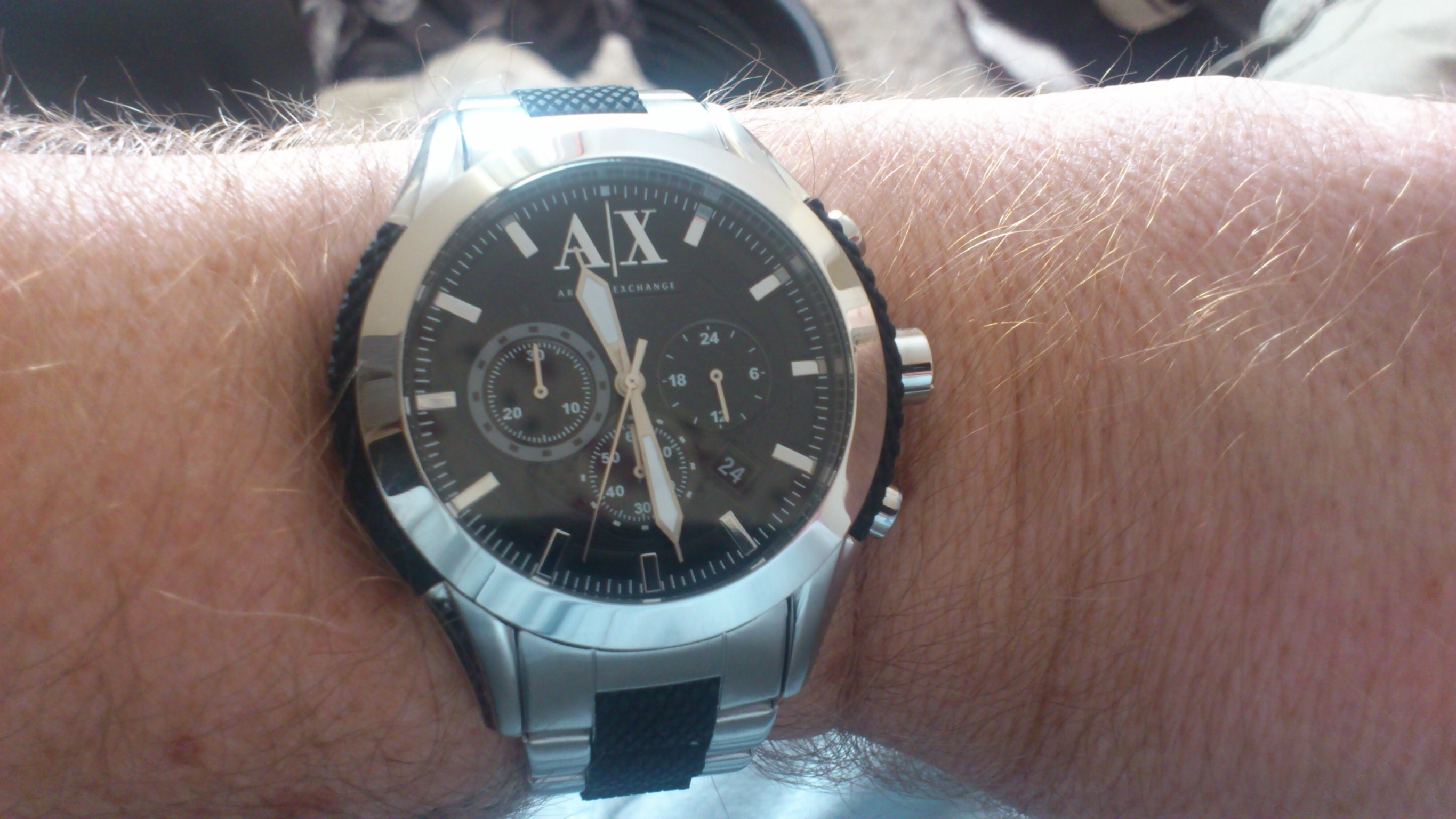 a70c73581 Gents Armani Exchange Chronograph Watch (AX1214) | WatchShop.com™