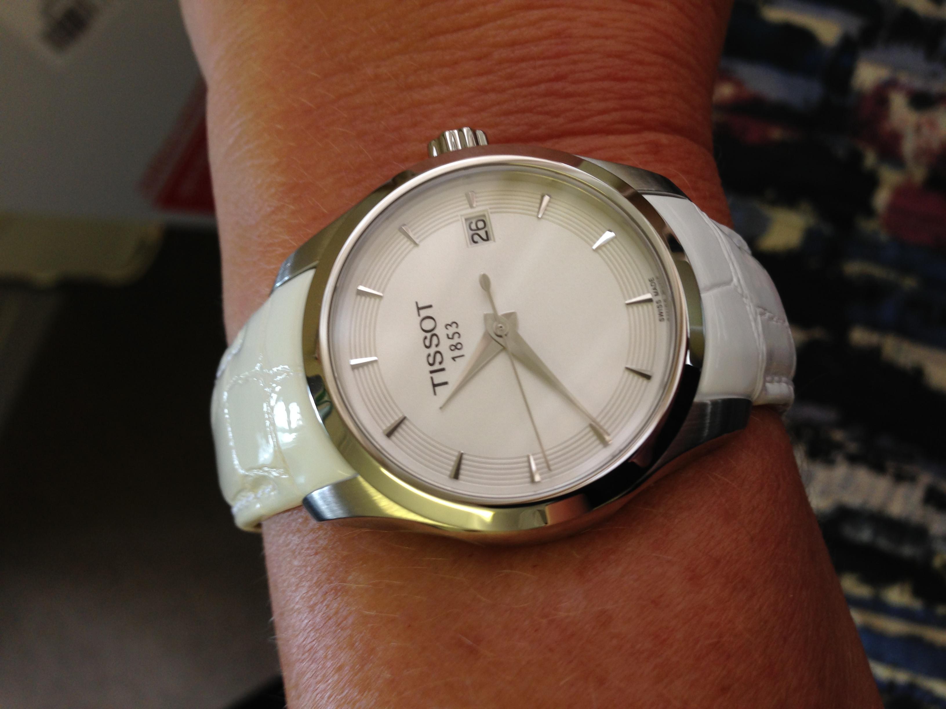 Ladies Tissot Couturier Lady Watch (T0352101601100)  42c558ac9