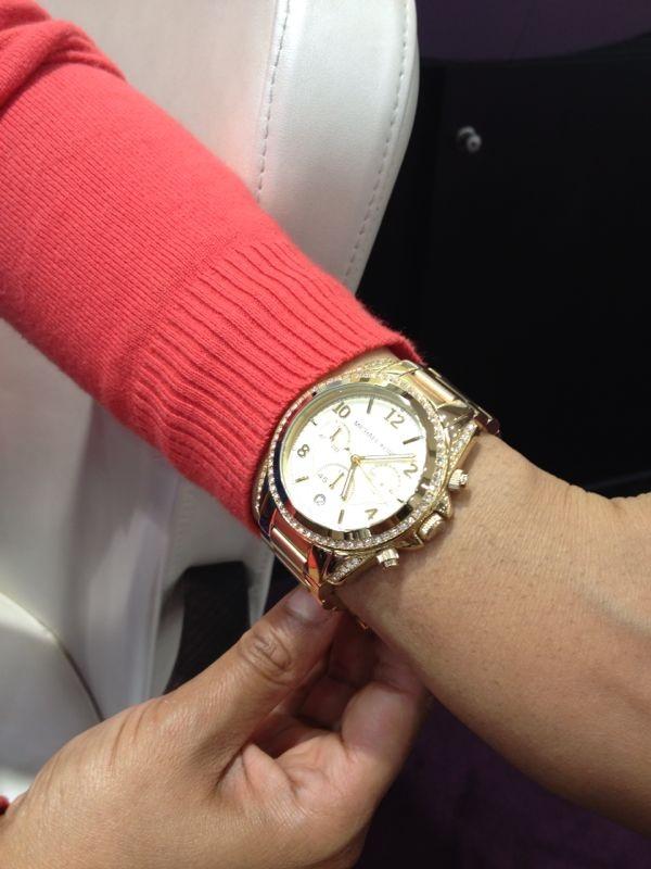58452b115c30 Ladies Michael Kors Blair Chronograph Watch (MK5166)