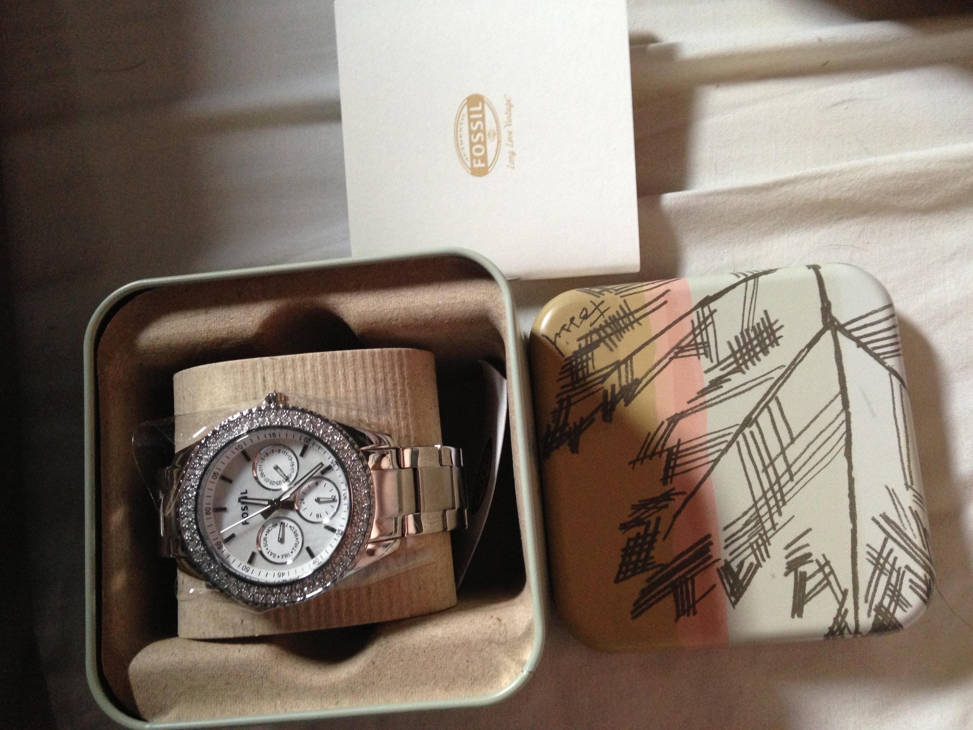 49f7849f58c12 Ladies Fossil Stella Watch (ES2860)