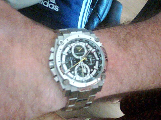 ee17ed3d9 Gents Bulova Precisionist Champlain Chronograph Watch (96B175) |  WatchShop.com™