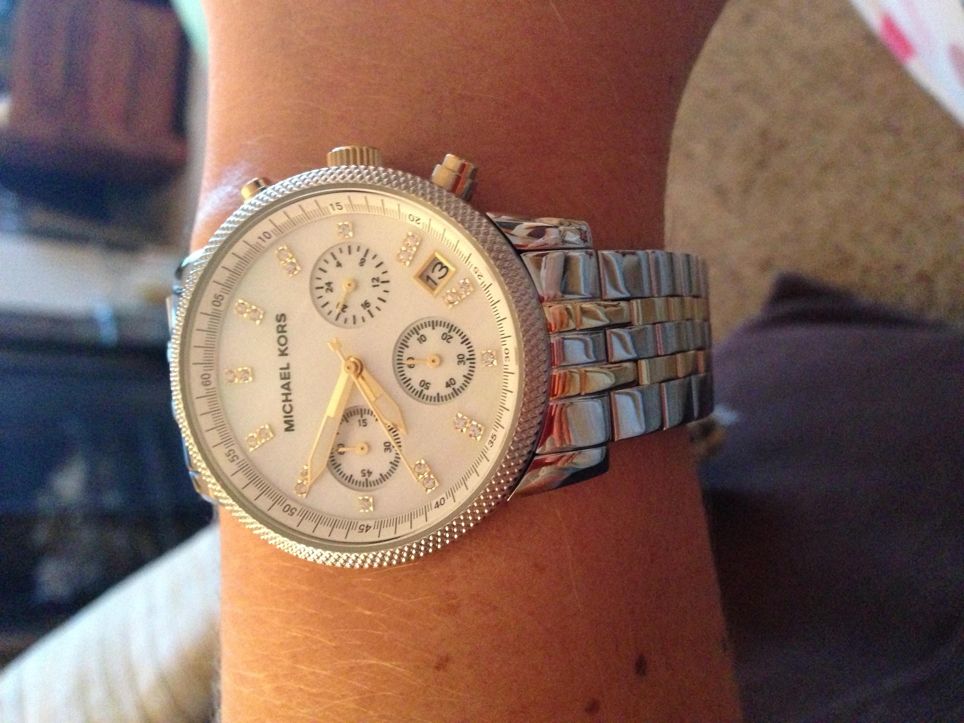 8c73adf01f01 Ladies Michael Kors Ritz Chronograph Watch (MK5057)