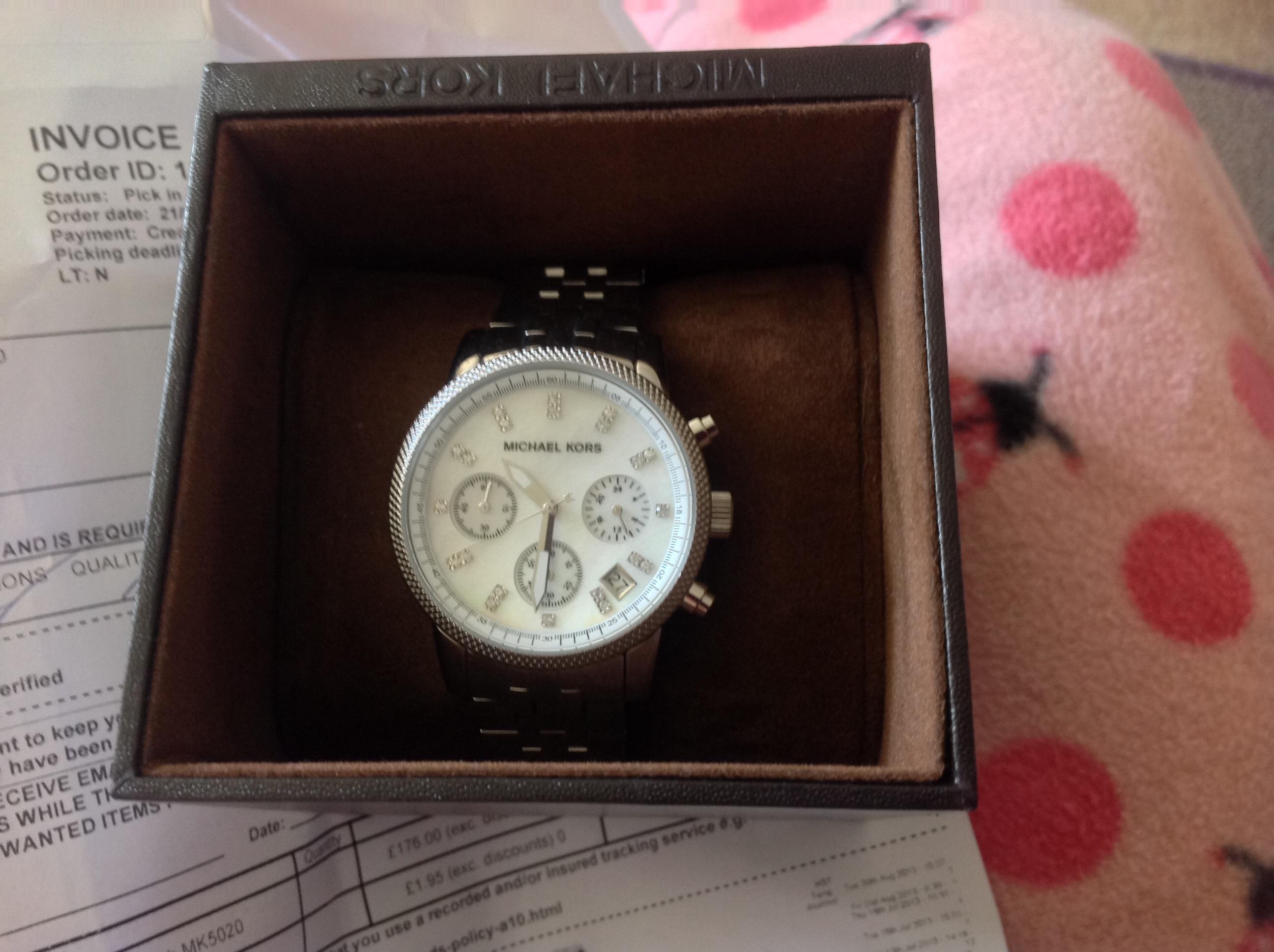 c38588425aa9 Ladies Michael Kors Ritz Chronograph Watch (MK5020)