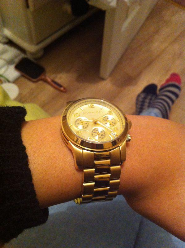 cb8701b5575d Ladies Michael Kors Runway Chronograph Watch (MK5055)