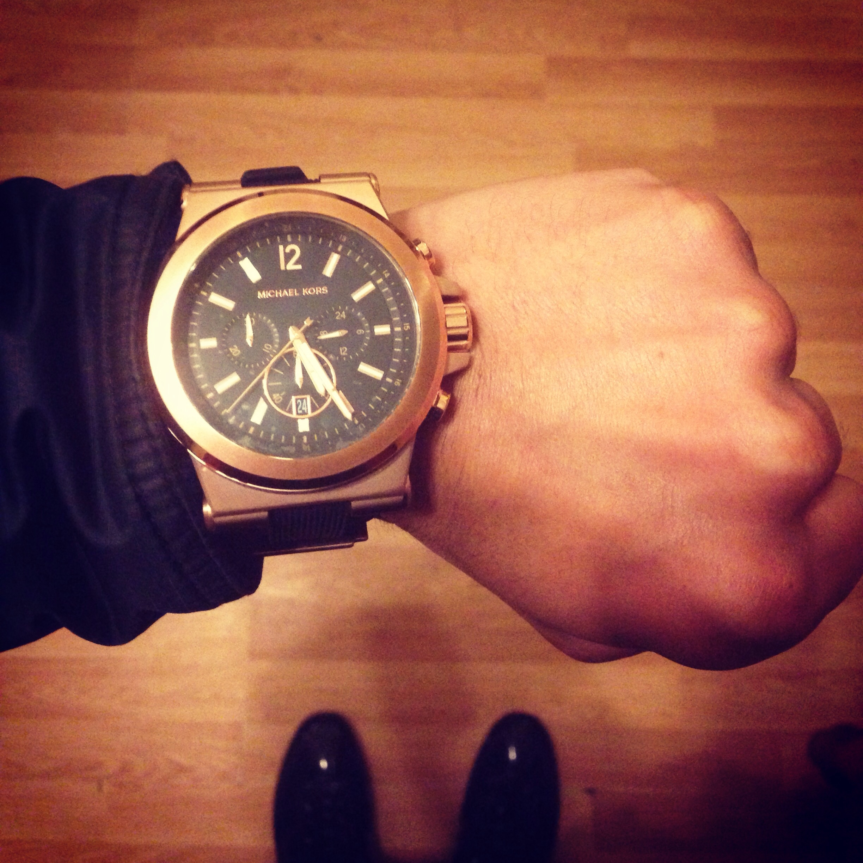 f448016723264 Gents Michael Kors Dylan Chronograph Watch (MK8184)