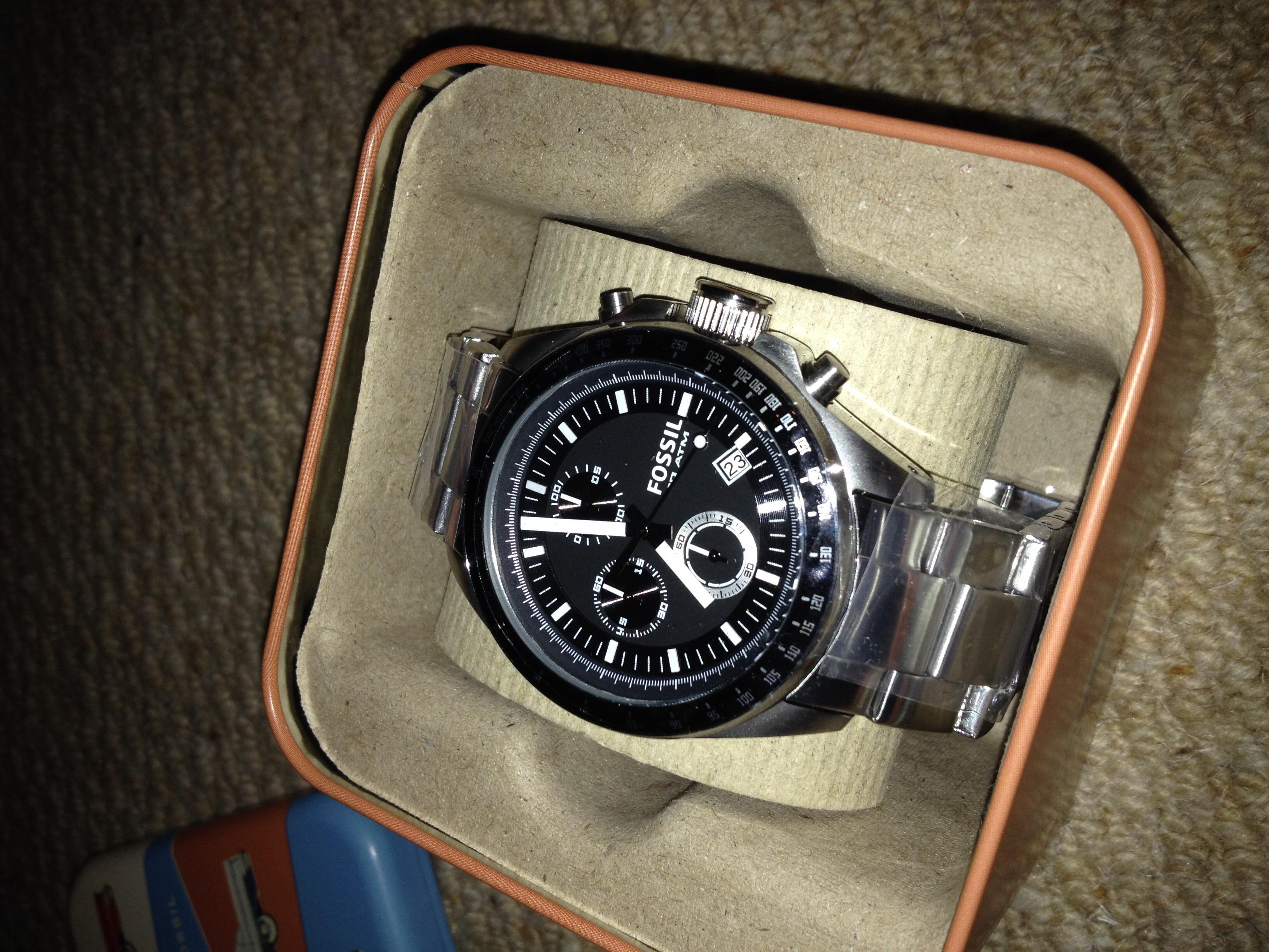 Gents Fossil Decker Chronograph Watch Ch2600ie Watchshop Com