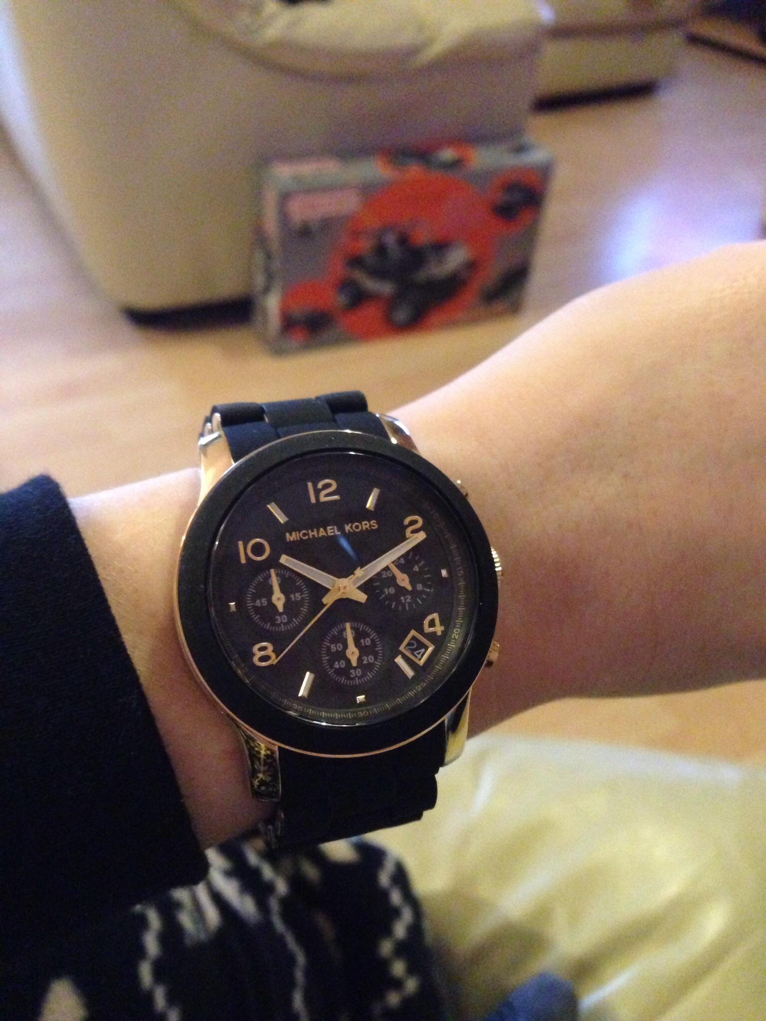 3a5aa028108 Ladies Michael Kors Runway Chronograph Watch (MK5191) | WatchShop.com™