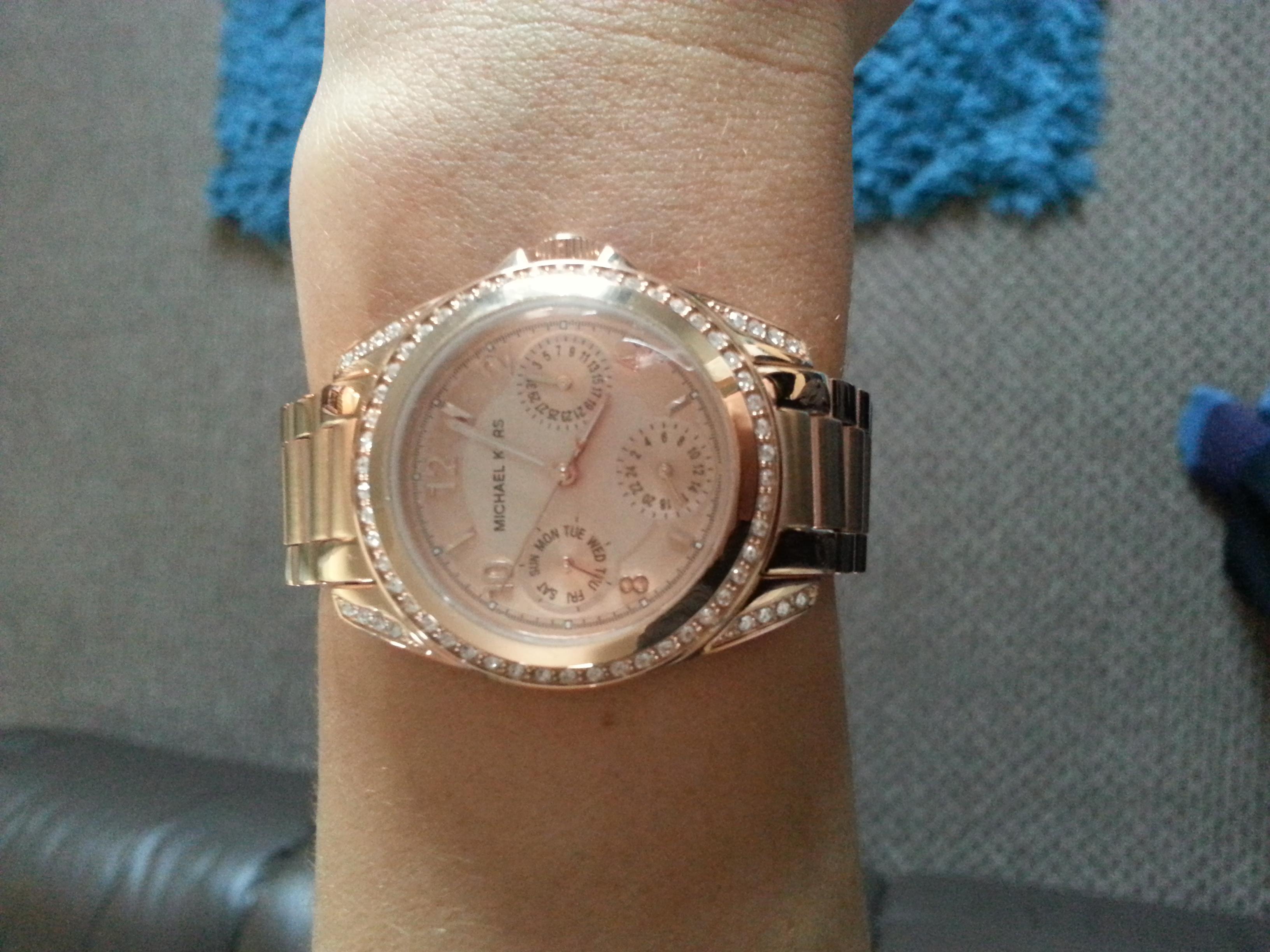 45cfd2d01944 Ladies Michael Kors Mini Blair Watch (MK5613)