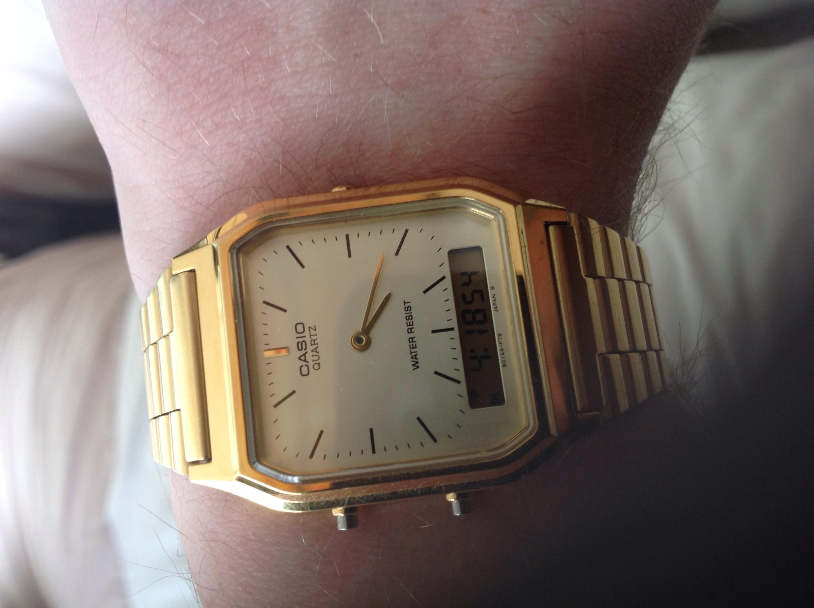 935fe3ec226e Gents Casio Classic Alarm Chronograph Watch (AQ-230GA-9DMQYES ...