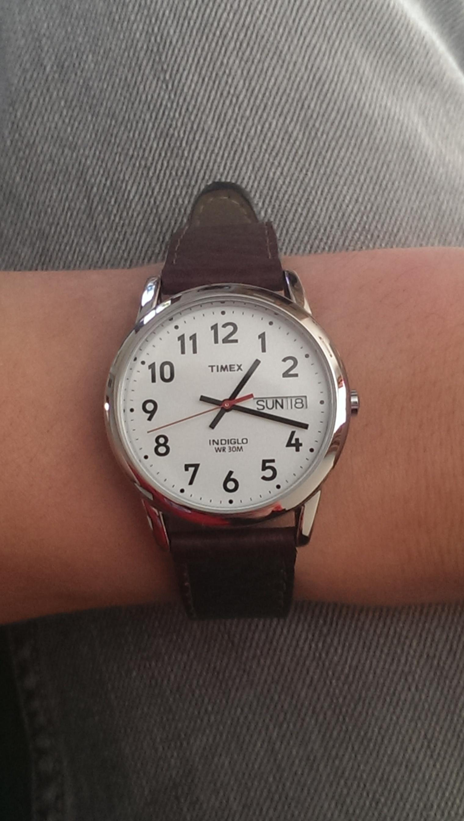 b9f89c471 Gents Timex Easy Reader Watch (T20041)   WatchShop.com™