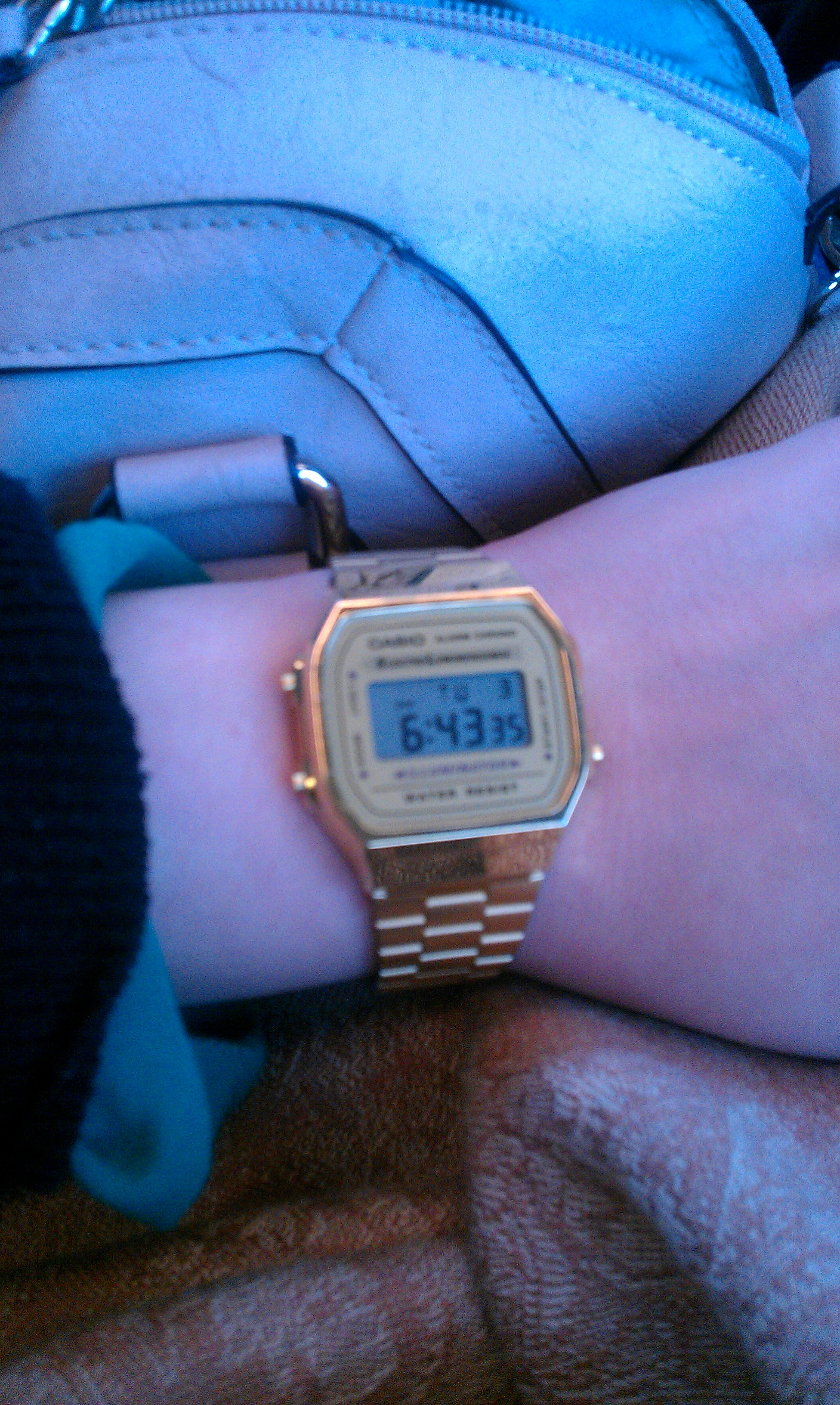 Unisex Casio Classic Leisure Alarm Chronograph Watch A168wg 9ef Fossil Bridgette Mini Stainless Steel Am 4352 I Absolutely In Love With This Bought It About A Week Ago And Have Not Taken Off Havent To Worry Doing The Dishes Etc Because Its