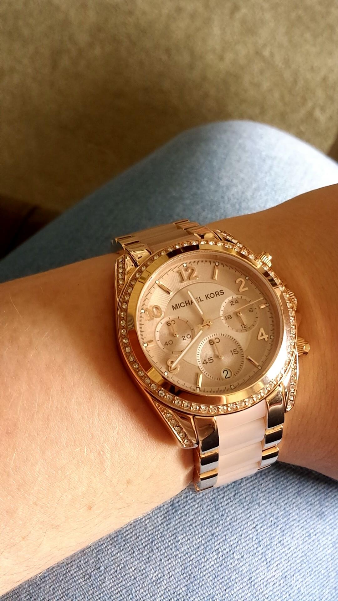 104f15a665b6 Ladies Michael Kors Blair Chronograph Watch (MK5943)