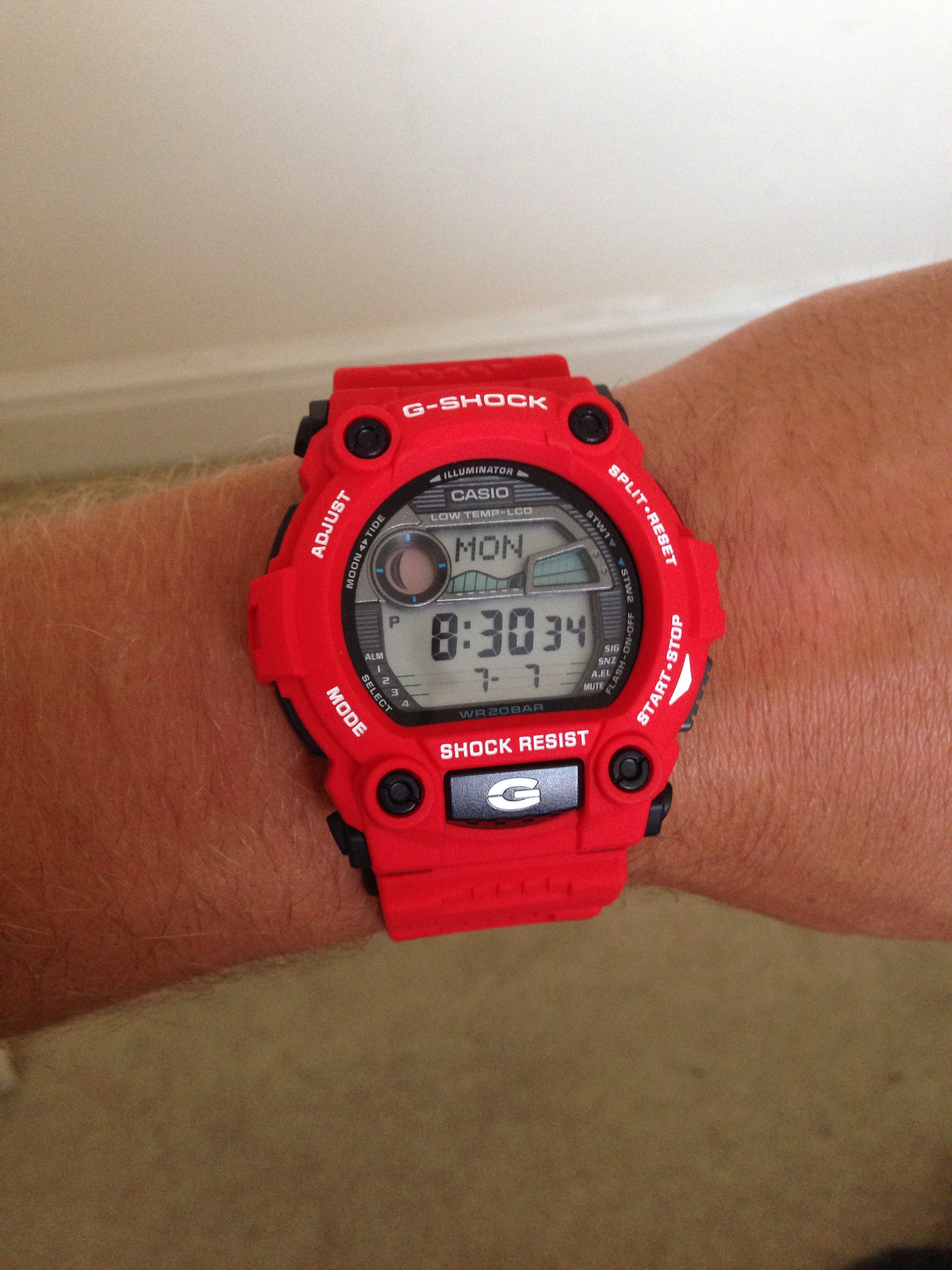 Gents Casio G-Shock G-Rescue Alarm Chronograph Watch (G-7900A-4ER ... cbb7879a6