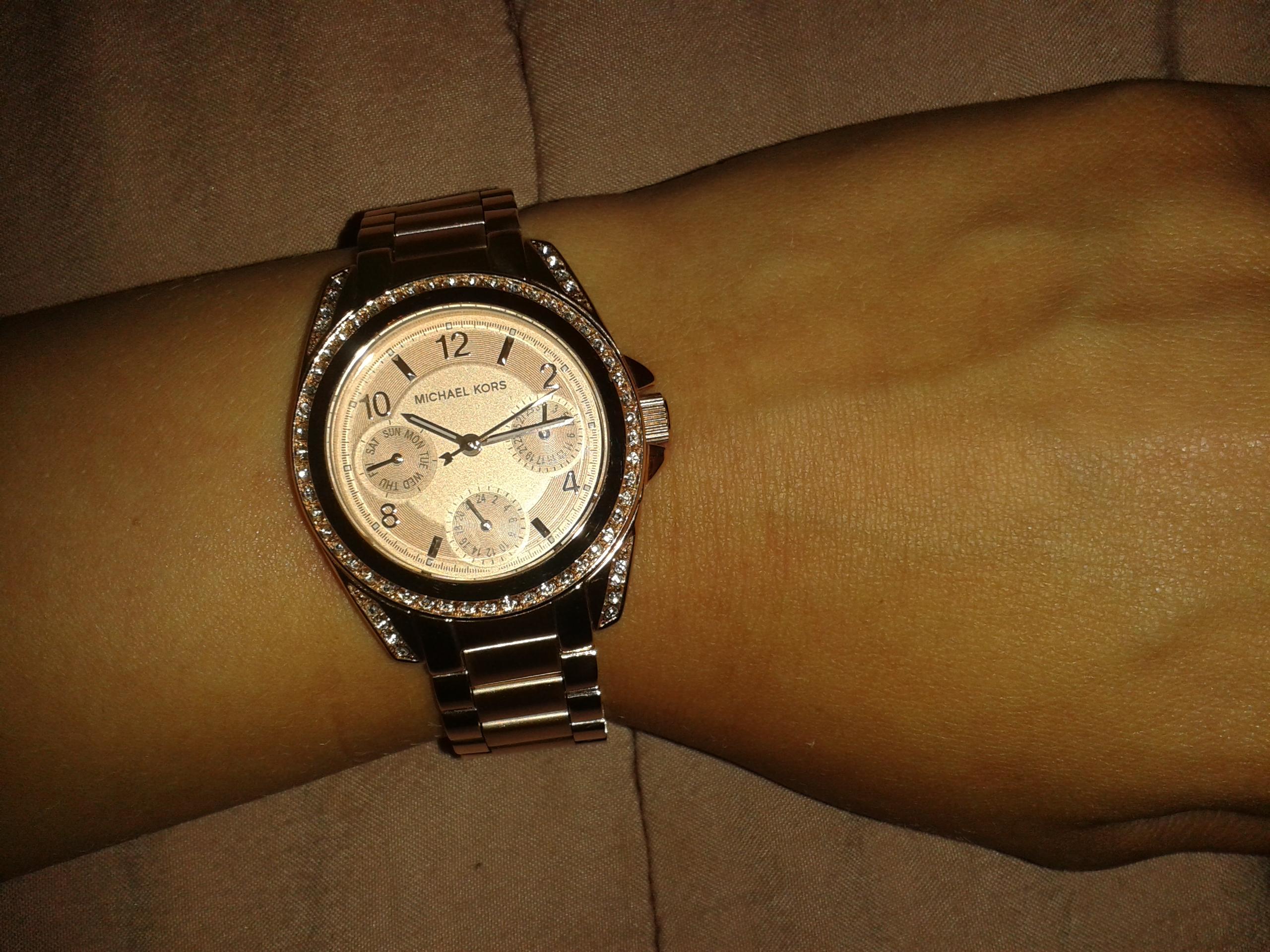 26073df67f20 Ladies Michael Kors Mini Blair Watch (MK5613)