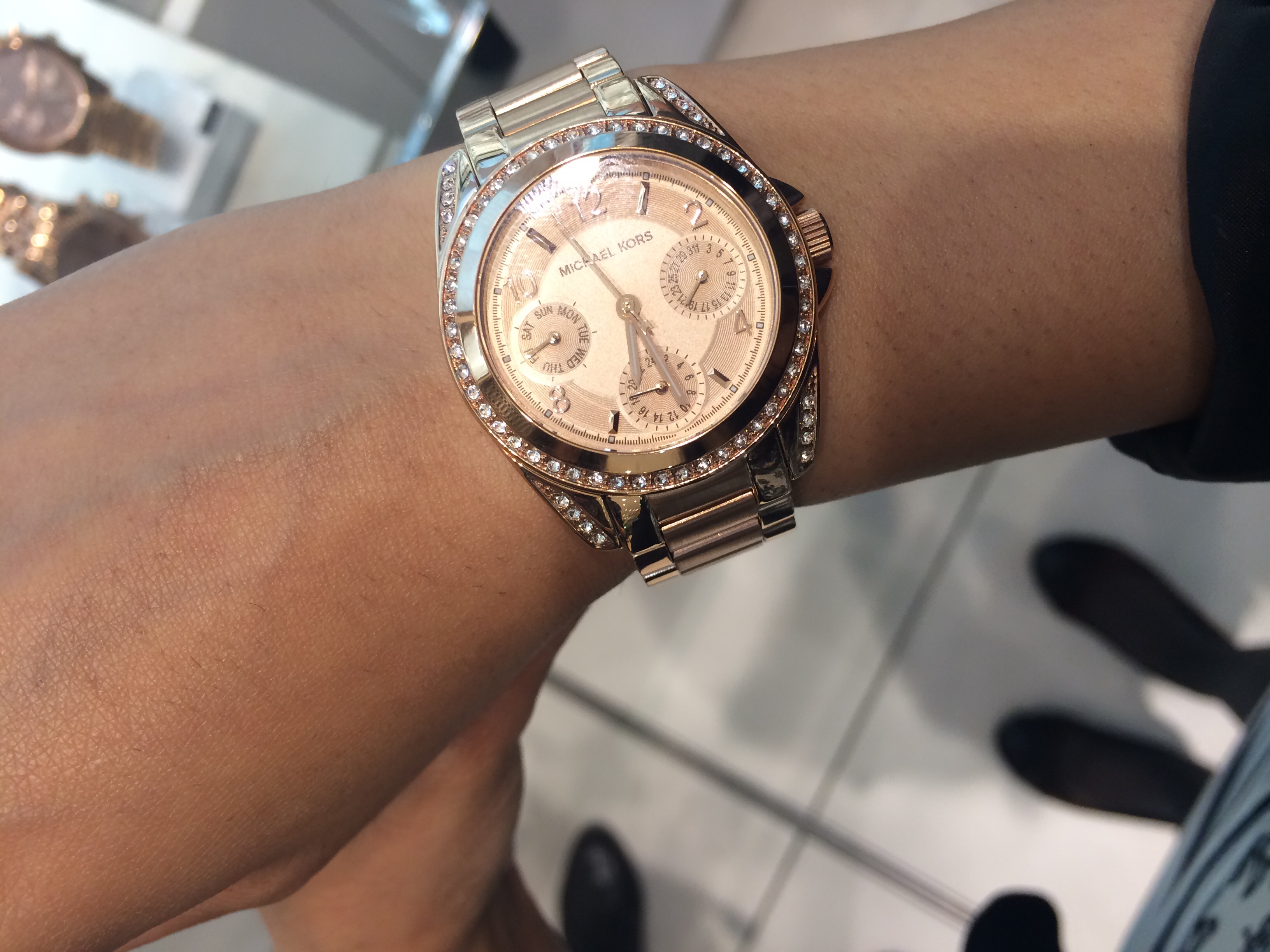 66c5c99c4956 This was an amazing buy ...... I went to house of Fraser to try it on and  looked lovely on me ....... My wrists are so tiny anyway so this mini dial  watch ...