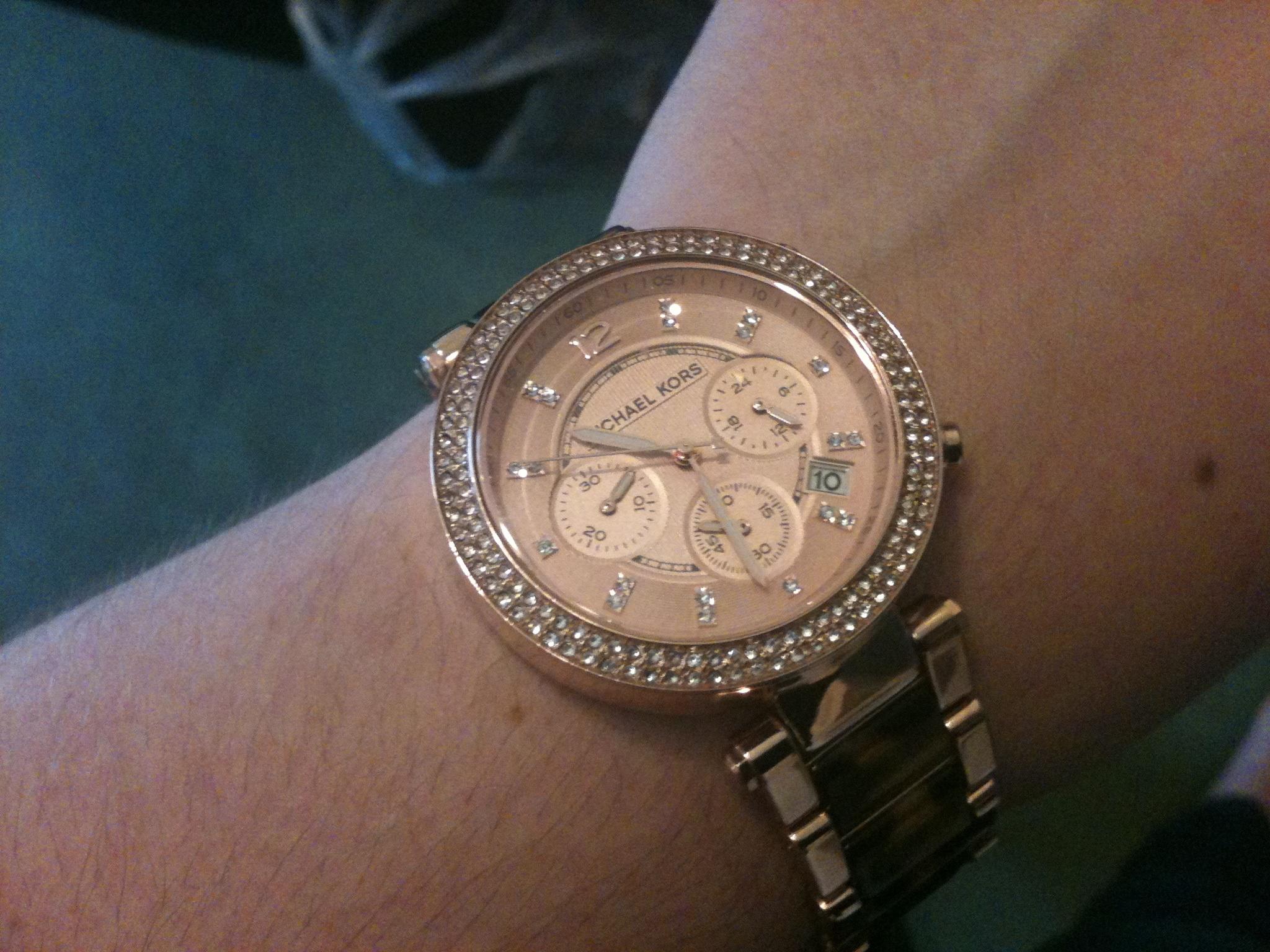 d65cb7a1d3dc Ladies Michael Kors Parker Chronograph Watch (MK5538)