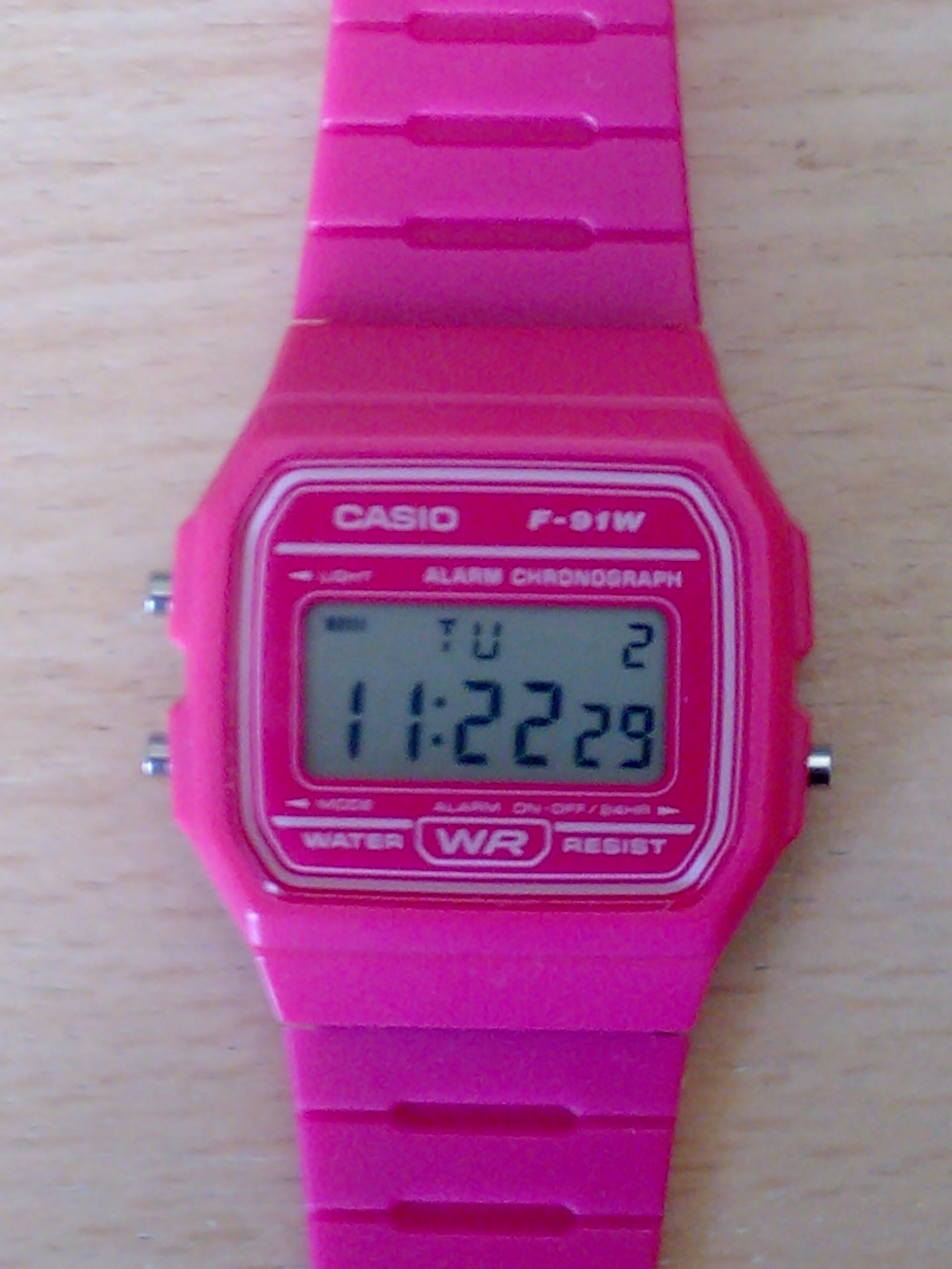 Unisex Casio Classic Alarm Chronograph Watch F 91wc 4aef Edifice Efr546bkg1av