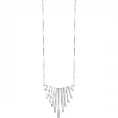Ladies Guess Silver Plated Miss Divine Necklace UBN82079