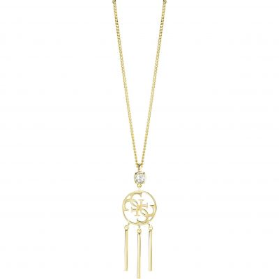 Ladies Guess Gold Plated Miss Divine Necklace UBN82083