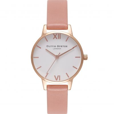 White Dial Rose Gold & Rose Watch