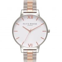 Ladies Olivia Burton Big Dial Bracelet Watch OB16BL32