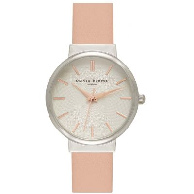 Montre Femme Olivia Burton The Hackney Silver Rose Gold & Dusty Pink OB15TH14