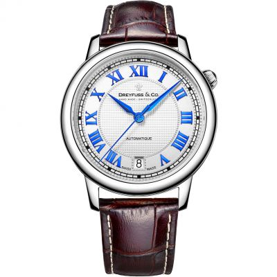 Mens Dreyfuss Co 1925 Automatic Watch DGS00148/01