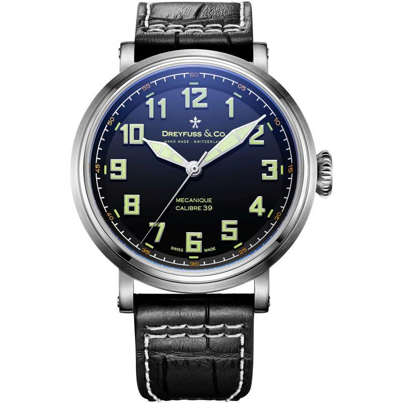 Mens Dreyfuss Co 1924 Calibre 39 Manufacture Mechanical Watch