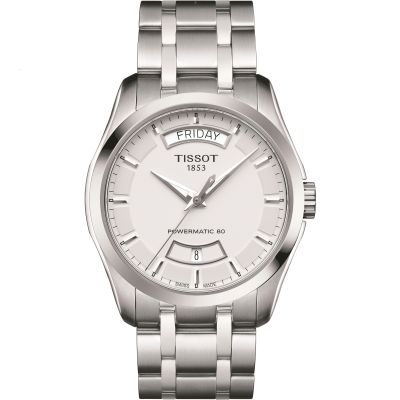 Mens Tissot Couturier Powermatic 80 Automatic Watch T0354071103101