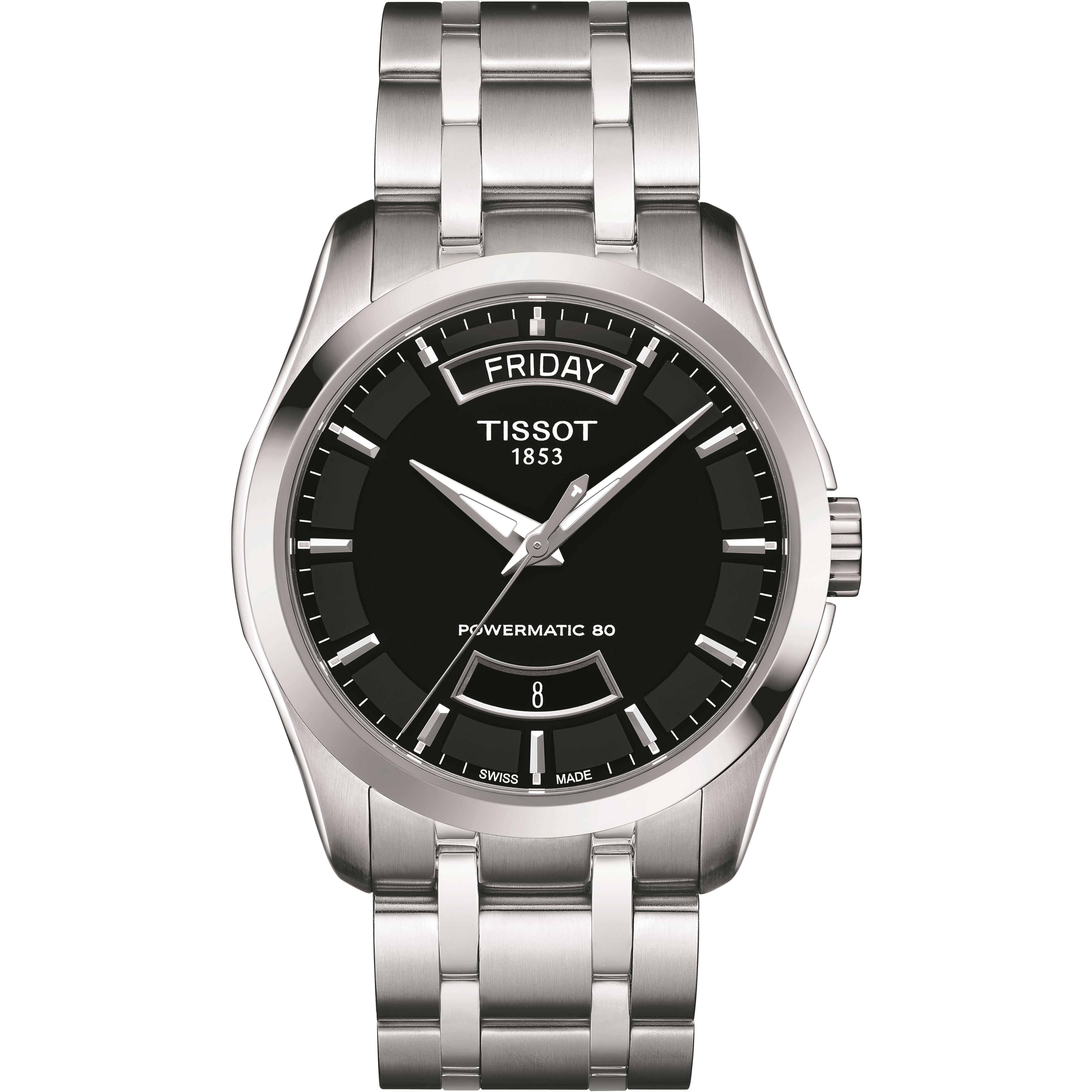 bdf8e8f50 Gents Tissot Couturier Powermatic 80 Watch (T0354071105101) | WatchShop.com™