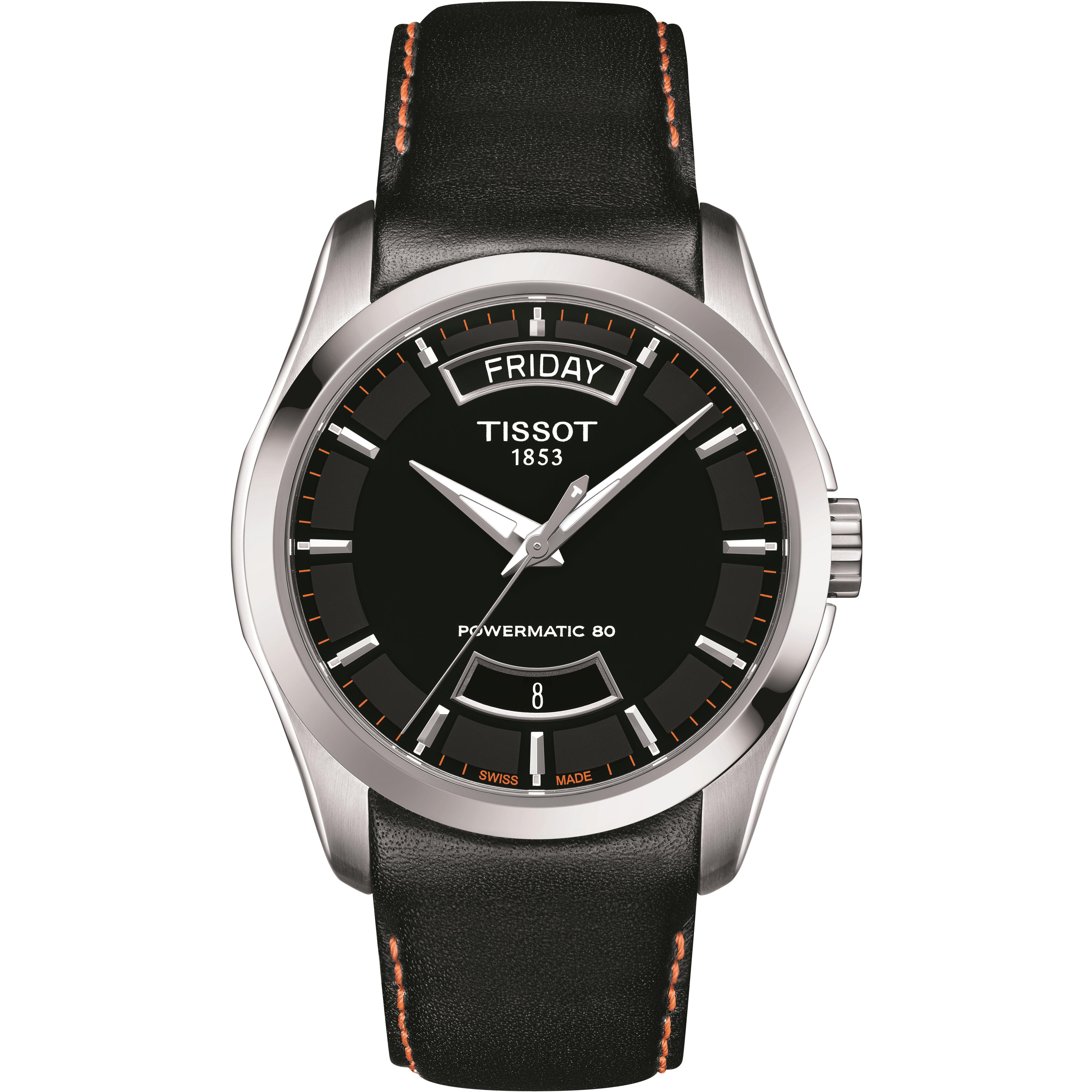 6eddd60a9 Gents Tissot Couturier Powermatic 80 Watch (T0354071605103) | WatchShop.com™