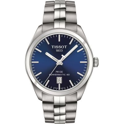 Mens Tissot PR100 Powermatic 80 Automatic Watch T1014071104100