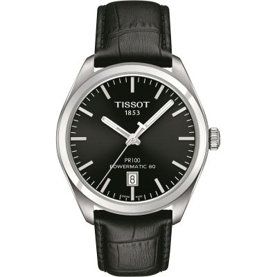Mens Tissot PR100 Powermatic 80 Automatic Watch T1014071605100