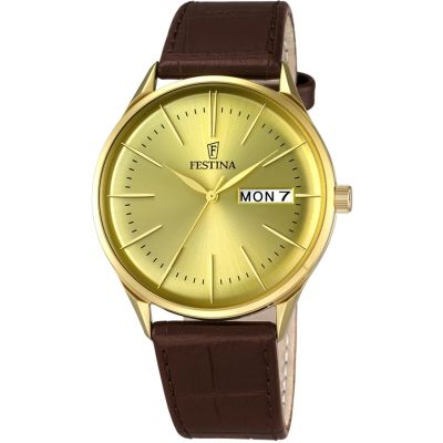 Mens Festina Retro Watch F6838/2