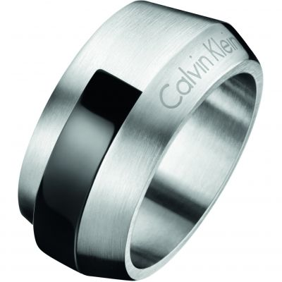 Mens Calvin Klein Stainless Steel Size X/Y Bump Ring KJ4MBR210112