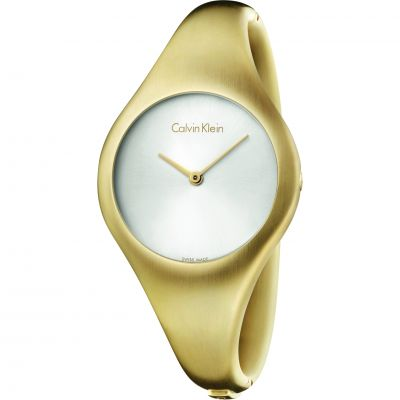 Calvin Klein Bare Small Bangle Dameshorloge Goud K7G1S516
