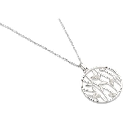 Unique Dam Leaf Pendant Sterlingsilver MK-523