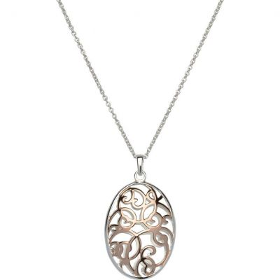 Unique Dam Pendant Sterlingsilver MK-563