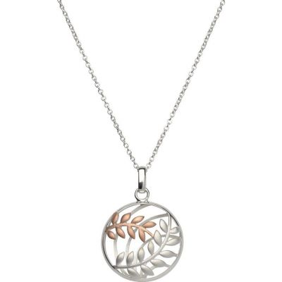 Unique Dam Leaf Pendant Sterlingsilver MK-567
