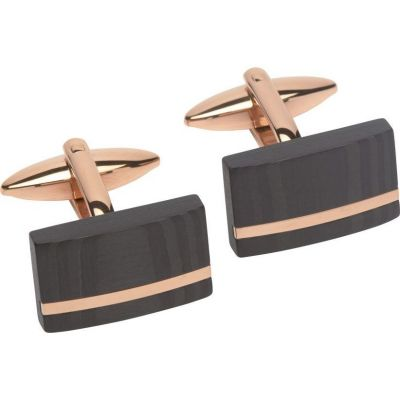 Mens Unique & Co Stainless Steel Cufflinks QC-189