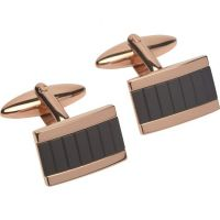 Mens Unique & Co Stainless Steel Cufflinks QC-197