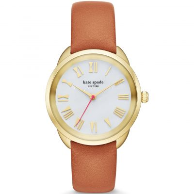 Kate Spade New York Crosstown Dameshorloge Bruin KSW1063