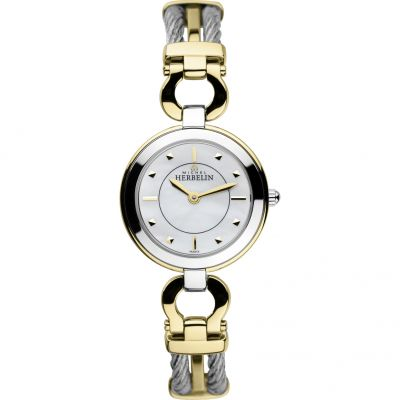 Ladies Michel Herbelin Cable Maxi Watch 17425/BT19