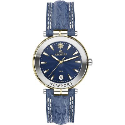 Michel Herbelin Newport Yacht Club Herrenuhr in Blau 12255/T35