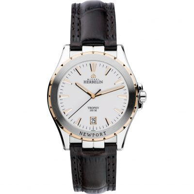 Mens Michel Herbelin Newport Trophy Watch 12275/TR11MA