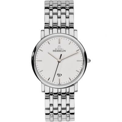 Mens Michel Herbelin Watch 12543/B11